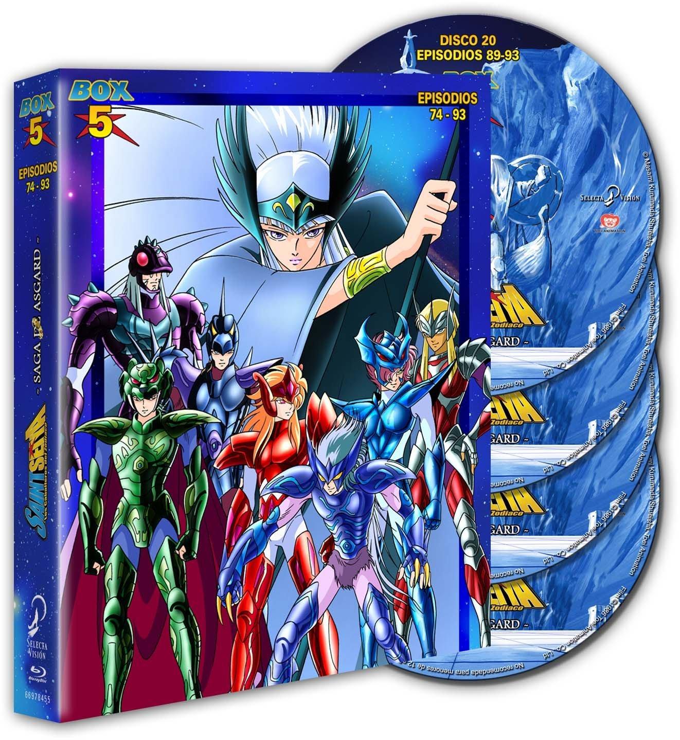 Saint Seiya (Los Caballeros del Zodiaco), Box 05 (Coleccionistas Eco.)