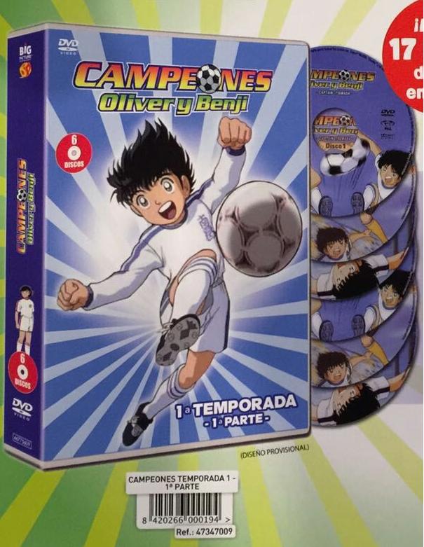 Campeones T1BP DVD