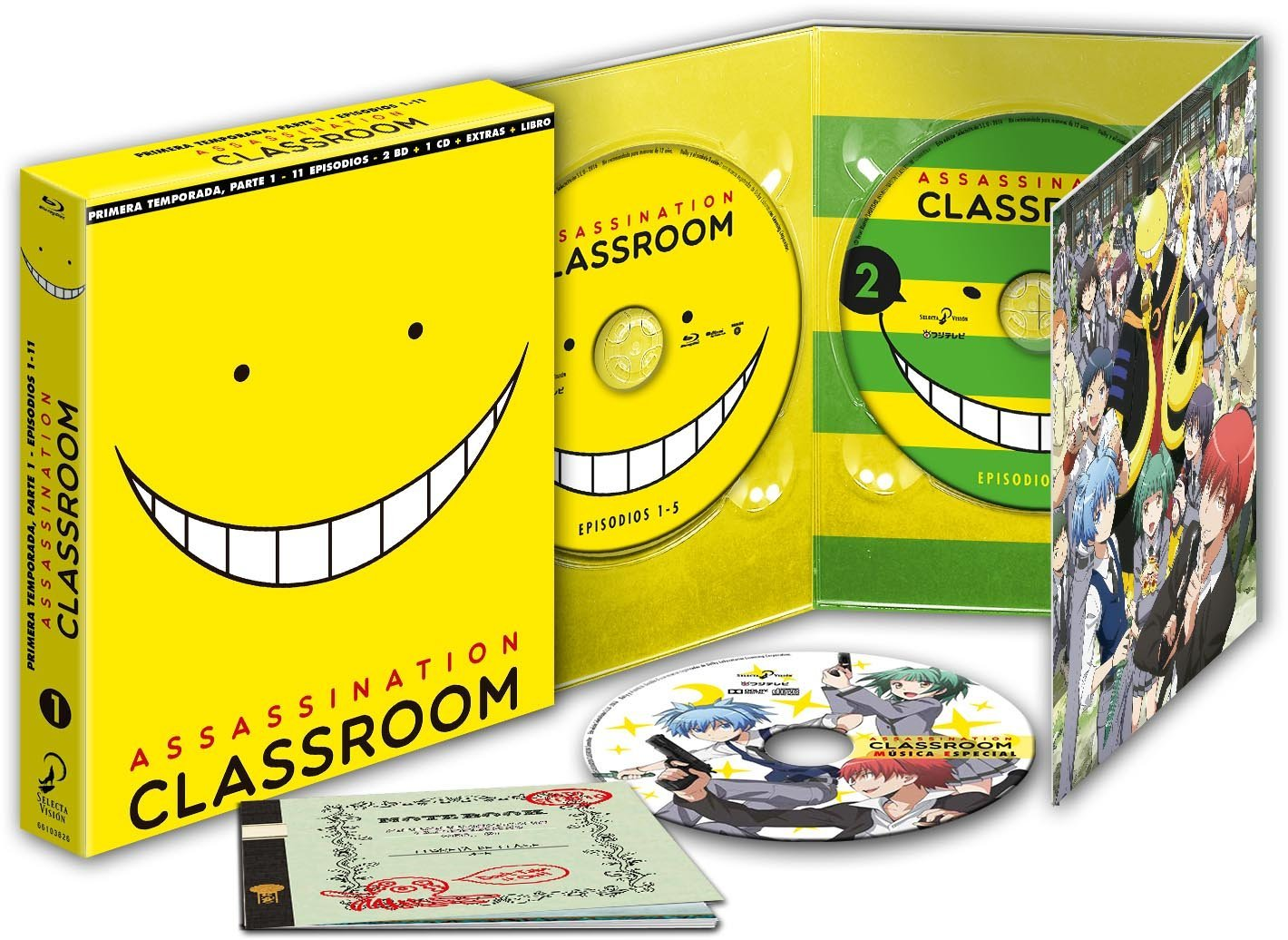 Assassination Classroom BD01