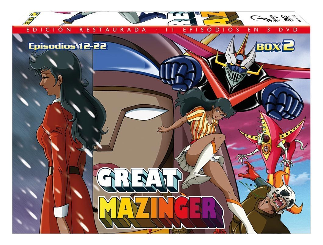 Great Mazinger DVD02