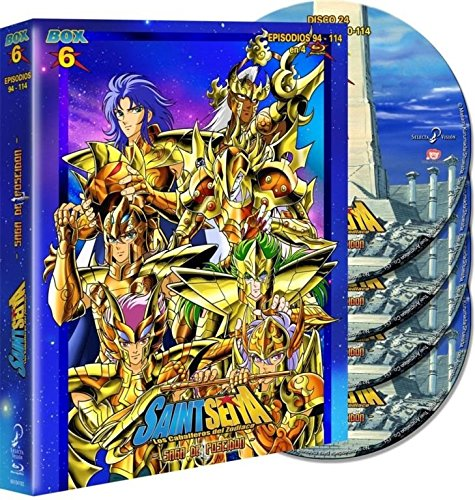 Saint Seiya Box06 BD eco