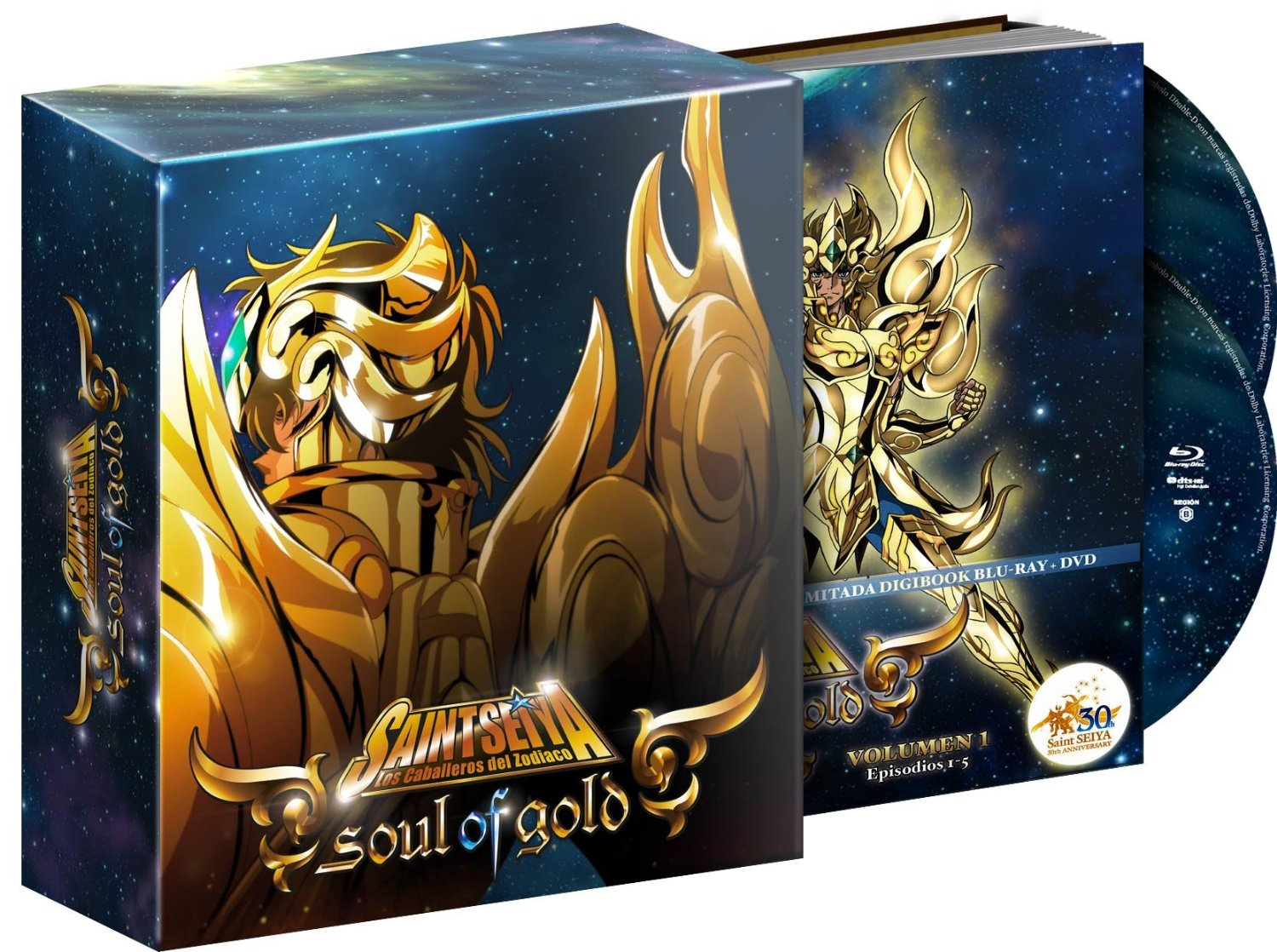 Saint Seiya: Soul of Gold, Vol. 01 (Digibook)