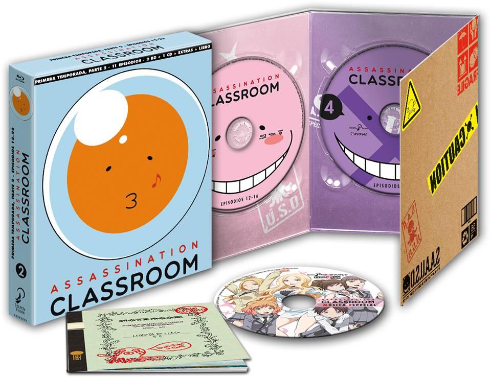 Assasination Classroom T1 P2 BD