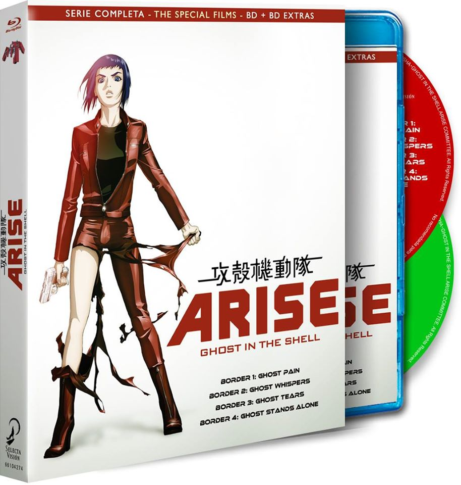 Ghost in the Shell Arise BD Eco