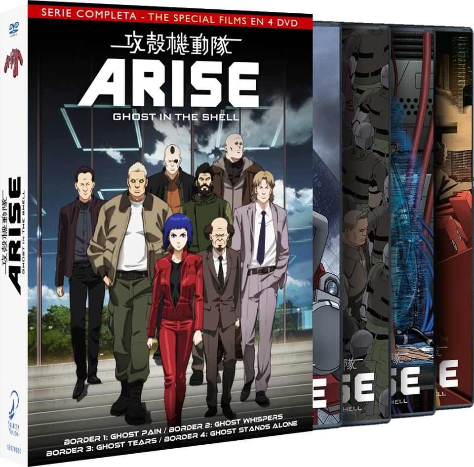Ghost in the Shell: Arise (Temporada Completa) Ed. Económica