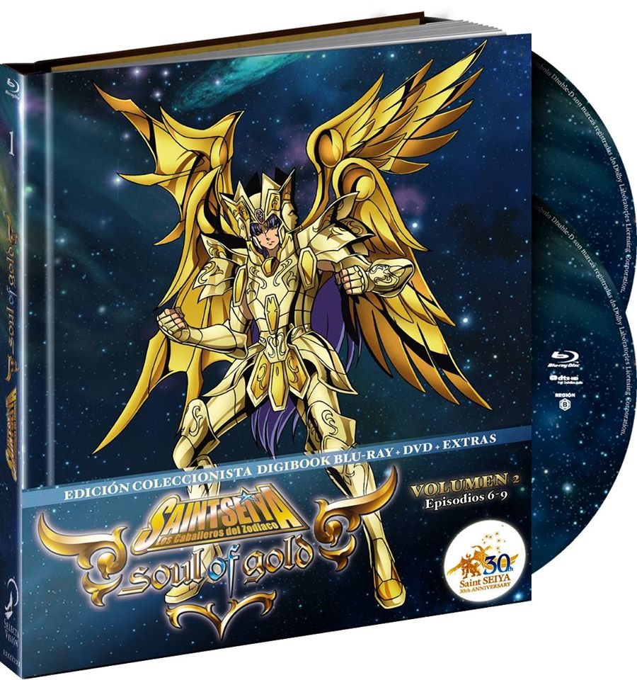 Saint Seiya: Soul of Gold, Vol. 02 (Digibook)