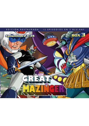 Great Mazinger, Box 03