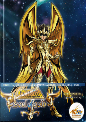 Saint Seiya: Soul of Gold, Vol. 03 (Digibook)