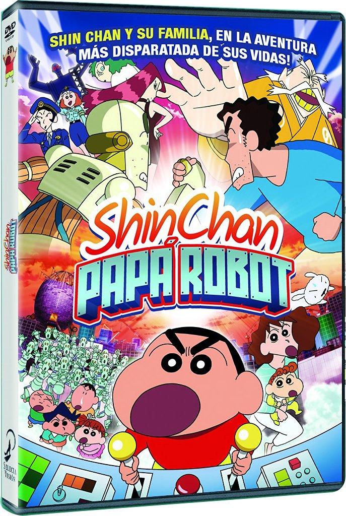 Shin chan Papá Robot DVD