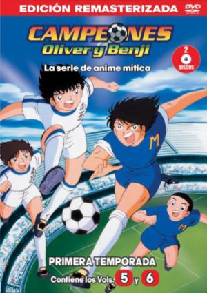 Campeones 5 y 6 DVD