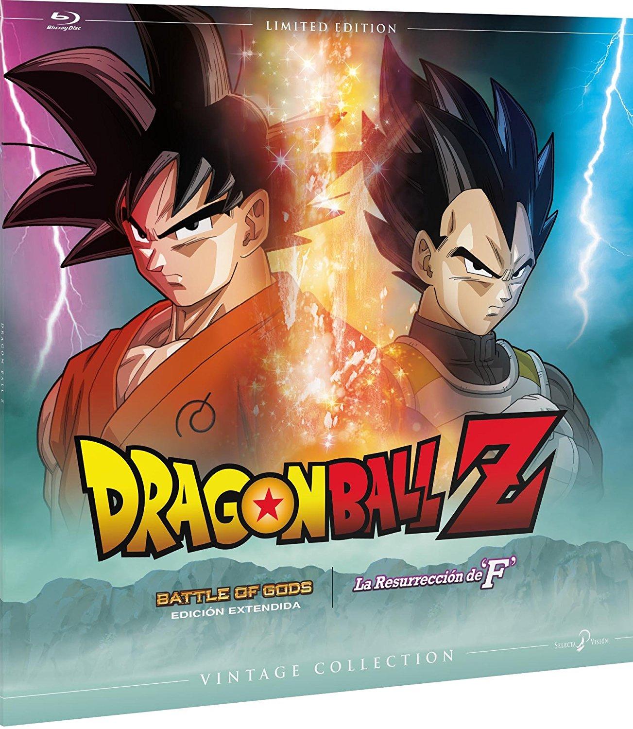 Dragon Ball Z: Battle of Gods EE + Drabon Ball Z: La Resurrección de F (Edición Vintage)