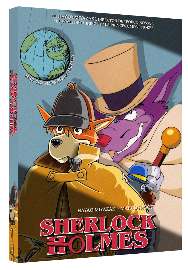 Sherlock Holmes DVD Remasterizada