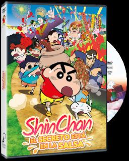 Shin chan El Secreto está en la Salsa DVD