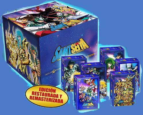 Saint Seiya (Los Caballeros del Zodiaco) - Serie Completa (Ed. 30 Aniversario)