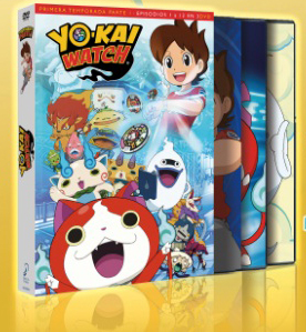 Yo-kai Watch, Temporada 1 - Parte 1 DVD