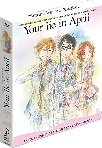 Your Lie in April Parte 1 BD