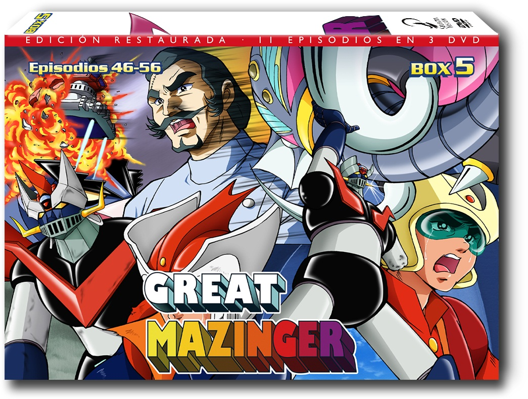 Great Mazinger 05 DVD
