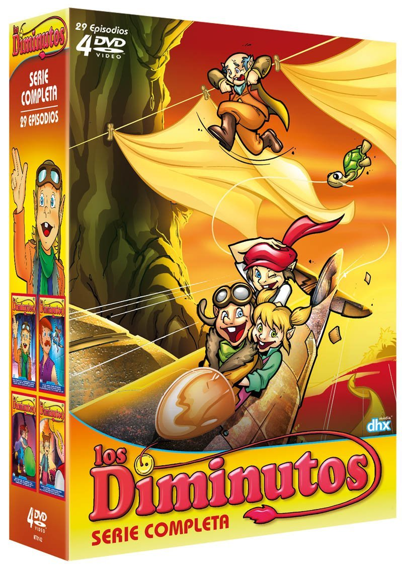 Los Diminutos Pack DVD