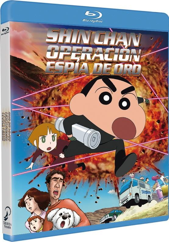 Shin chan: Operación Espía de Oro