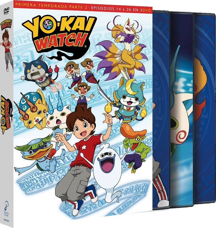 Yokai Watch Temporada 1 Parte 2 DVD