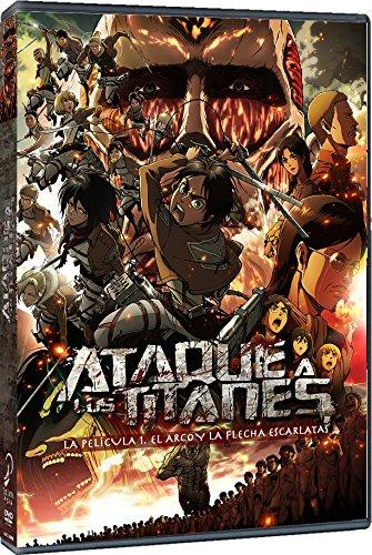 Ataque a los Titanes Película 1 DVD Reed