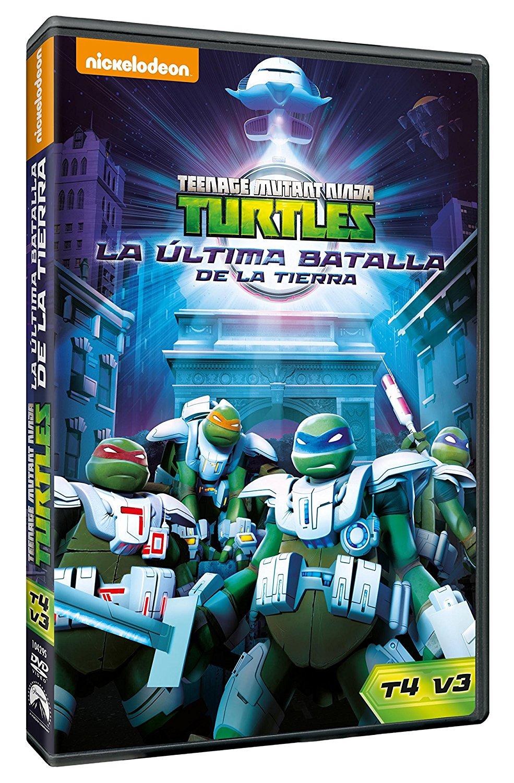 Las Tortugas Ninja La Última Batalla DVD