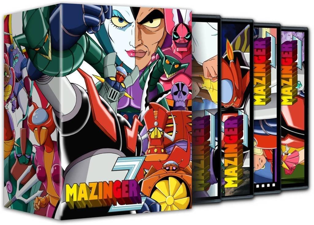 Mazinger Z Pack 01 DVD
