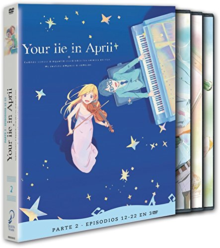Your Lie in April Parte 2 DVD