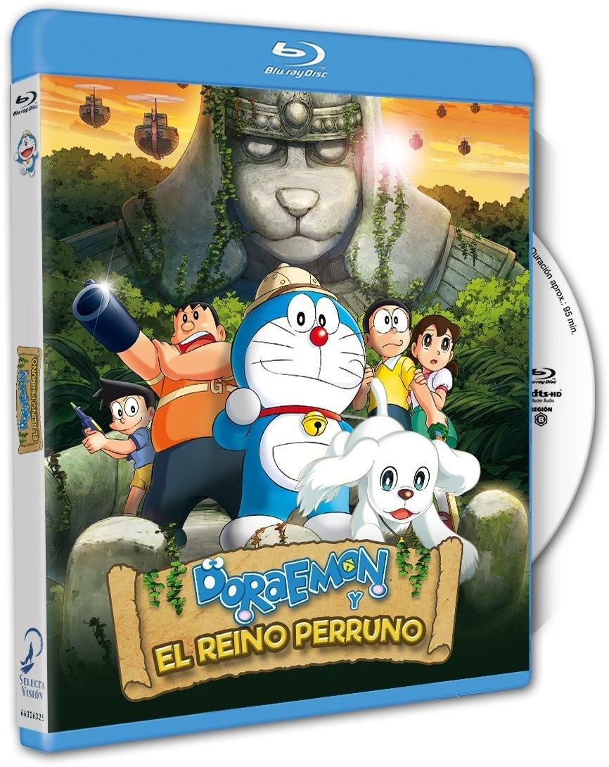 Doraemon y el Reino Perruno BD