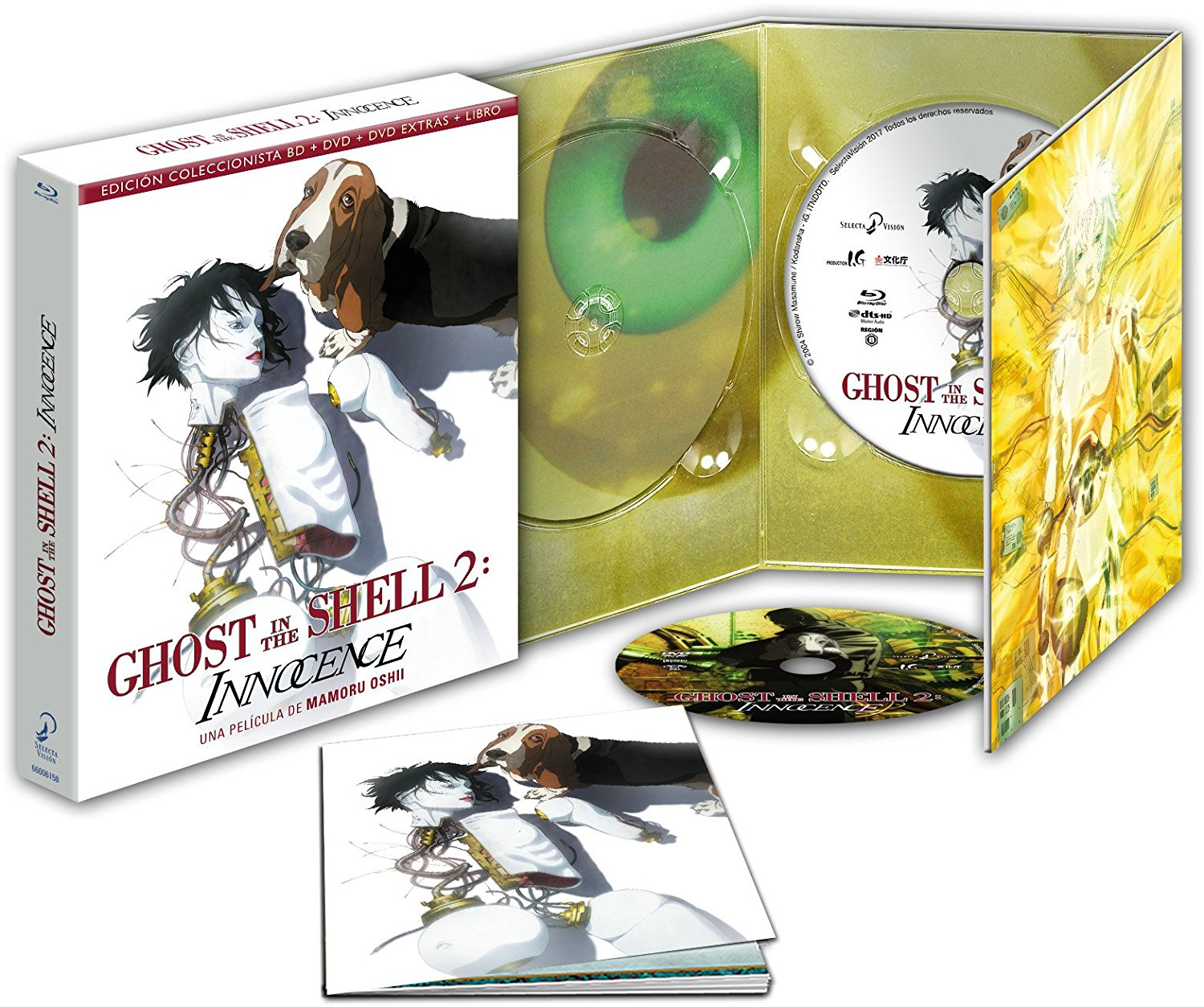 Ghost in the Shell 2 Innocence Edición Coleccionistas BD
