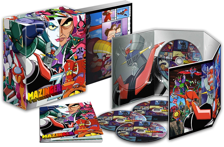 Mazinger Z Box 01 Edición Coleccionistas BD