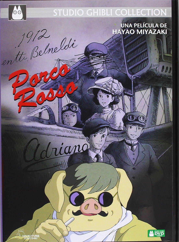 Porco Rosso DVD Sencillo
