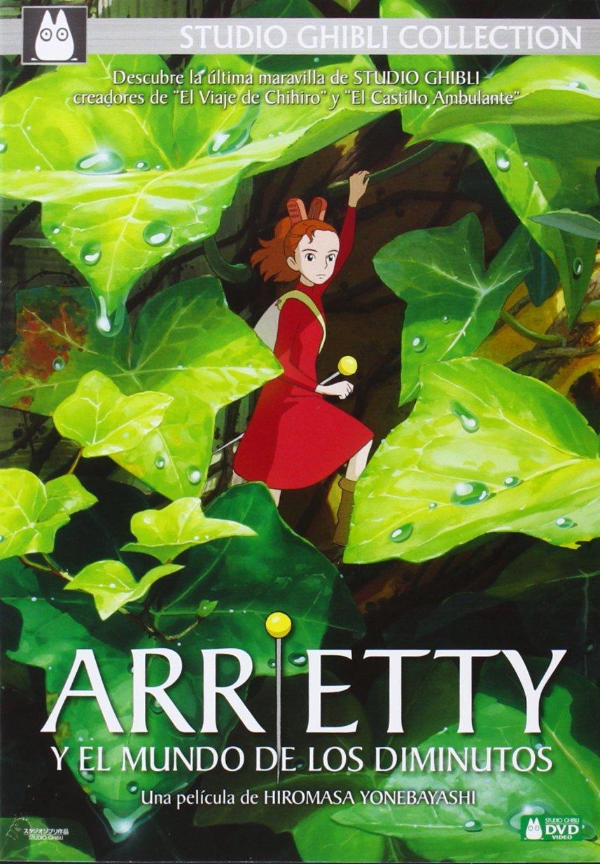 Arietty y el Mundo de los Diminutos DVD Sencillo