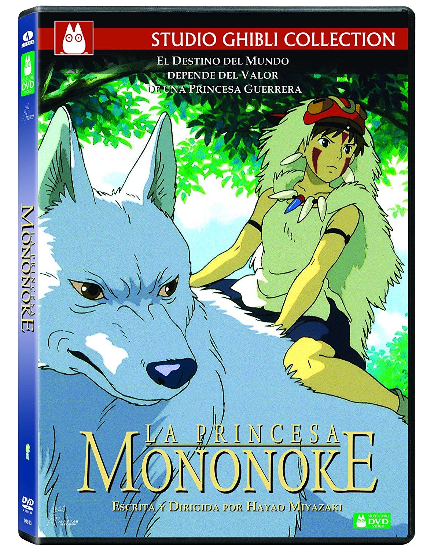 La Princesa Mononoke DVD Sencillo