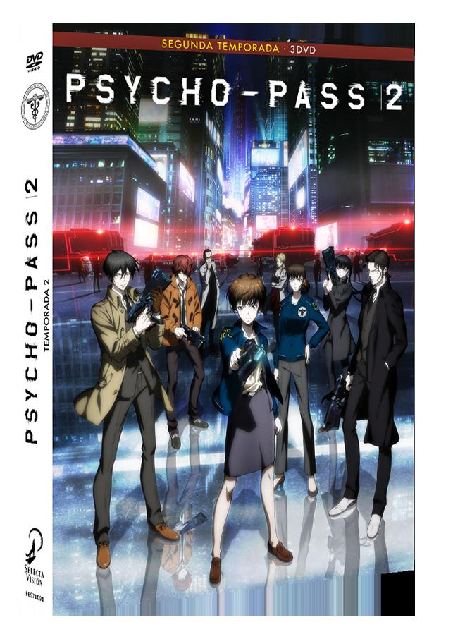 Psycho-Pass 2 DVD