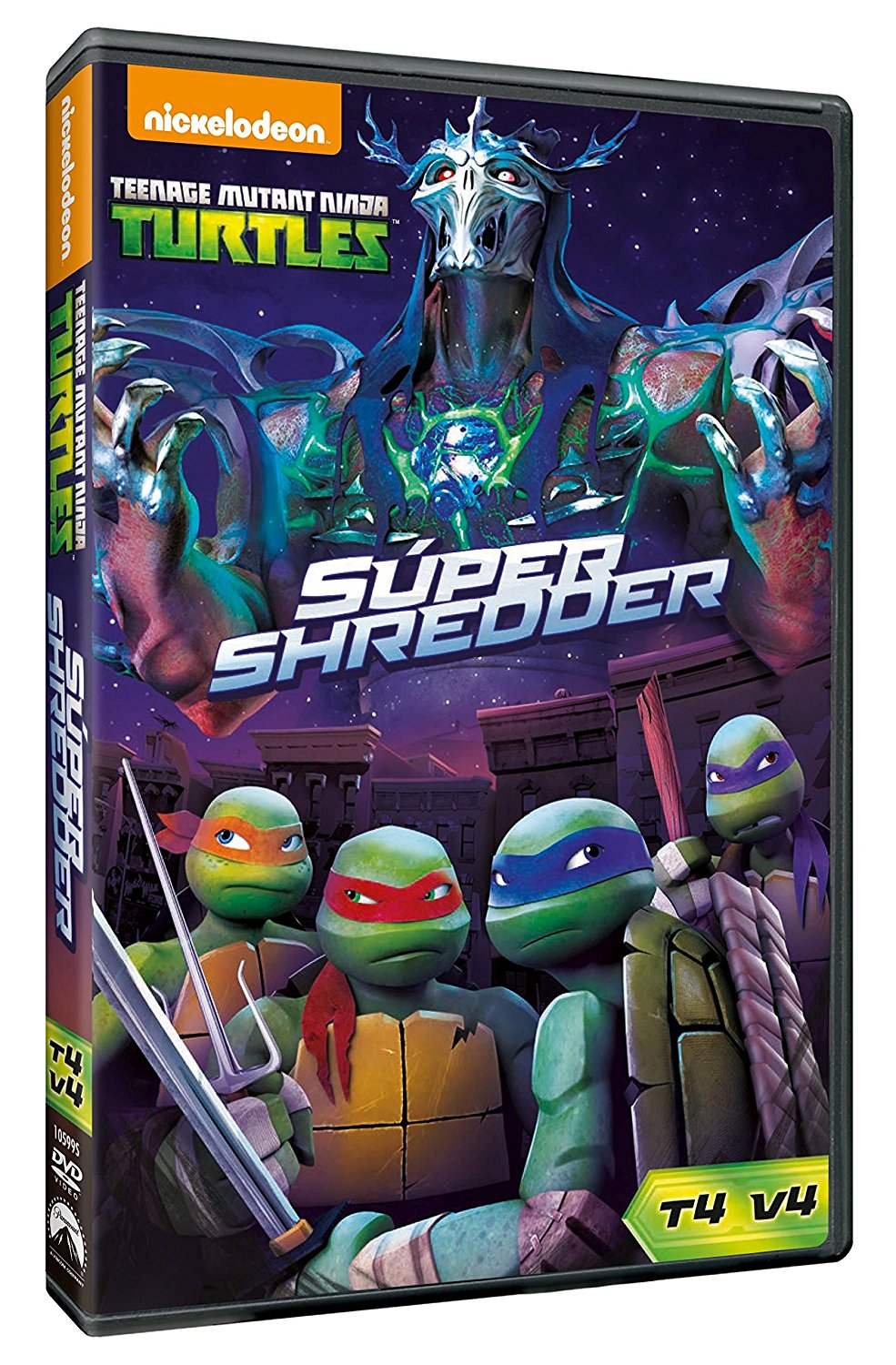 Las Tortugas Ninja 4.4 Super Shredder DVD