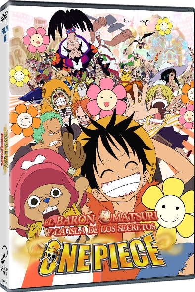 One Piece El Barón Omatsuri DVD