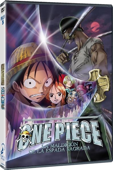 One Piece La maldición de la Espada Sagrada DVD