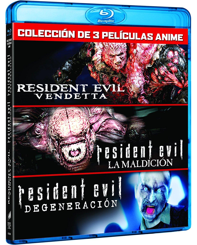 Resident Evil Pack Anime BD