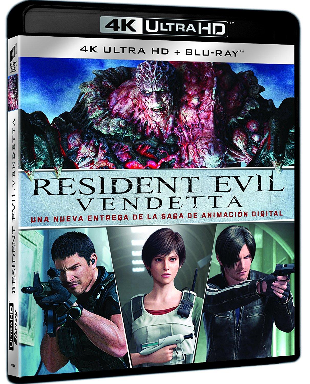 Resident Evil Vendetta 4K BD