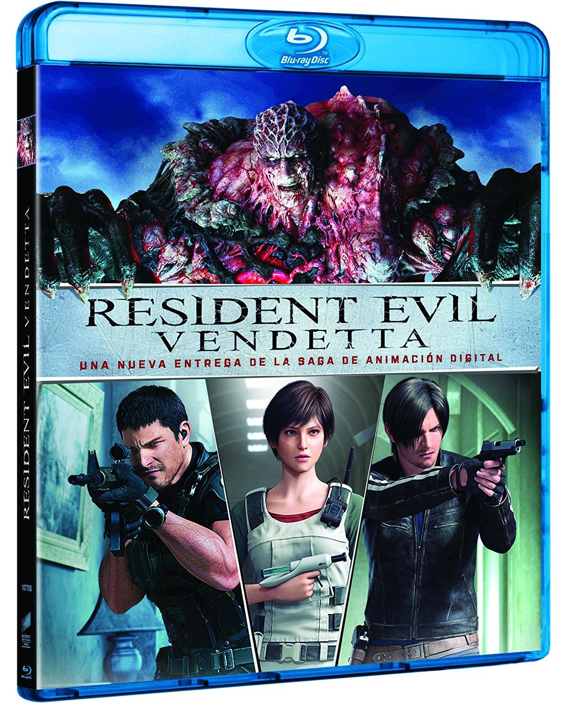 Resident Evil Vendetta BD