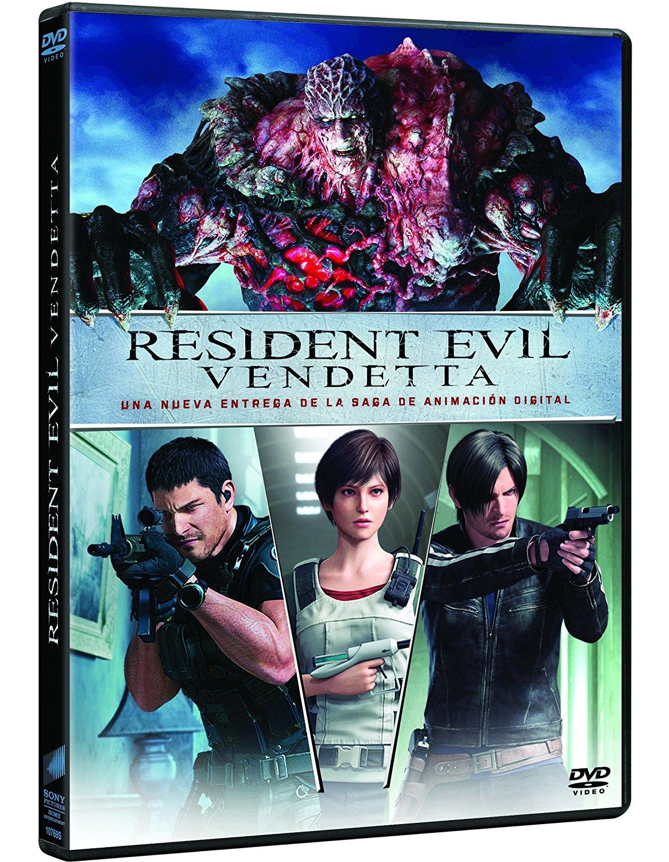 Resident Evil Vendetta DVD