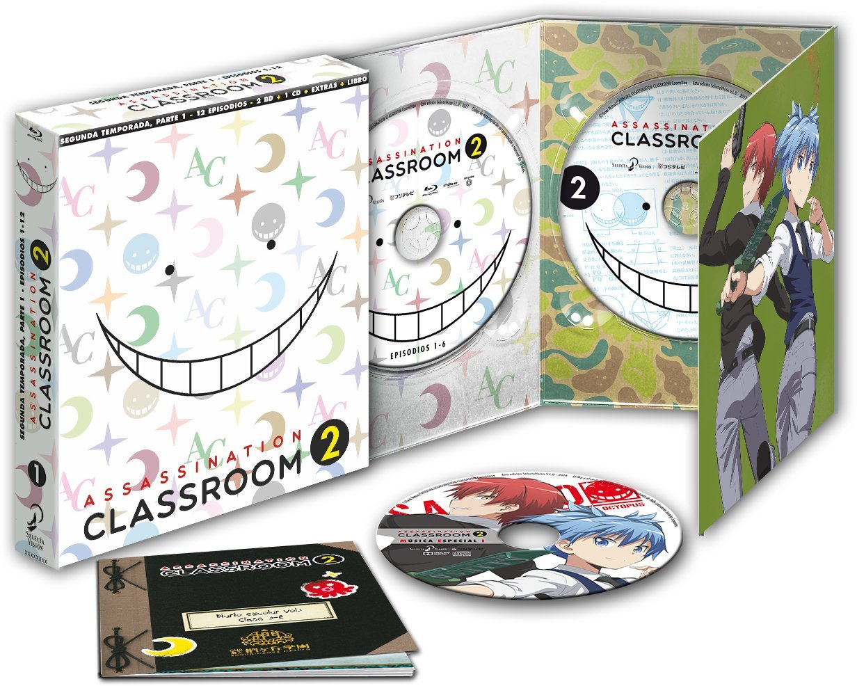 Assassination Classroom Temporada 2 Parte 1 BD
