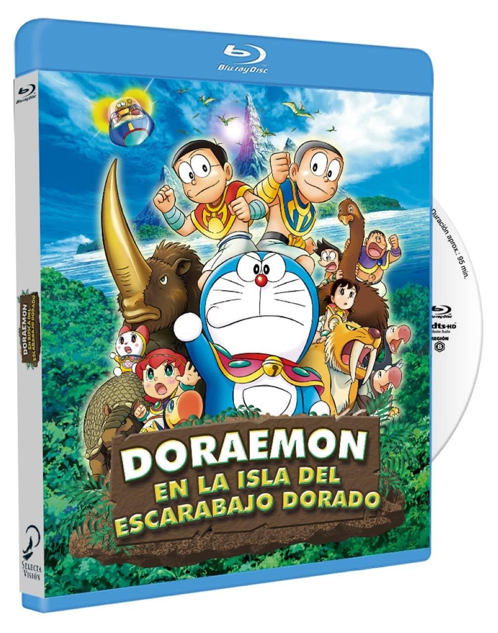 Doraemon en Busca del Escarabajo Dorado BD