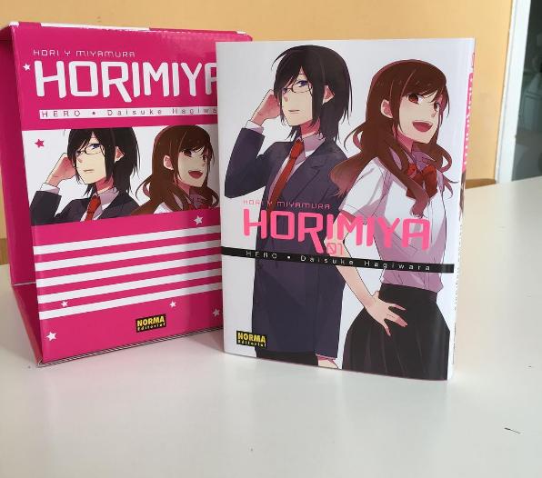 Horimiya cofre