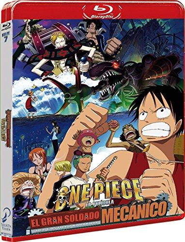 One Piece El Robot Mecánico del Castillo Karakuri BD