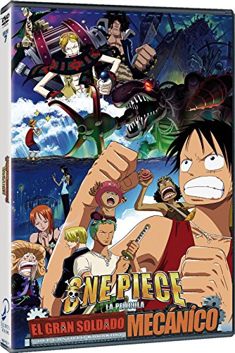One Piece El Robot Mecánico del Castillo Karakuri DVD