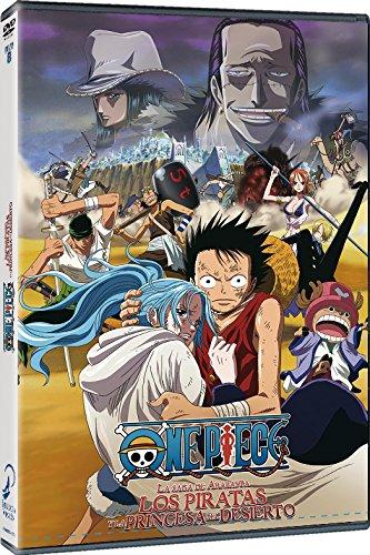 One Piece La Saga de Arabasta Los Piratas y la Princesa del Desierto DVD