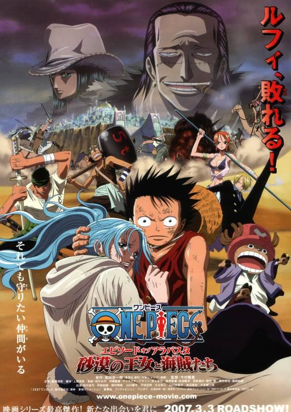 One Piece: La Saga de Arabasta - Los Piratas y la Princesa del Desierto