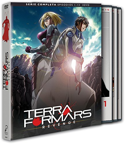 Terra Formars Revenge DVD